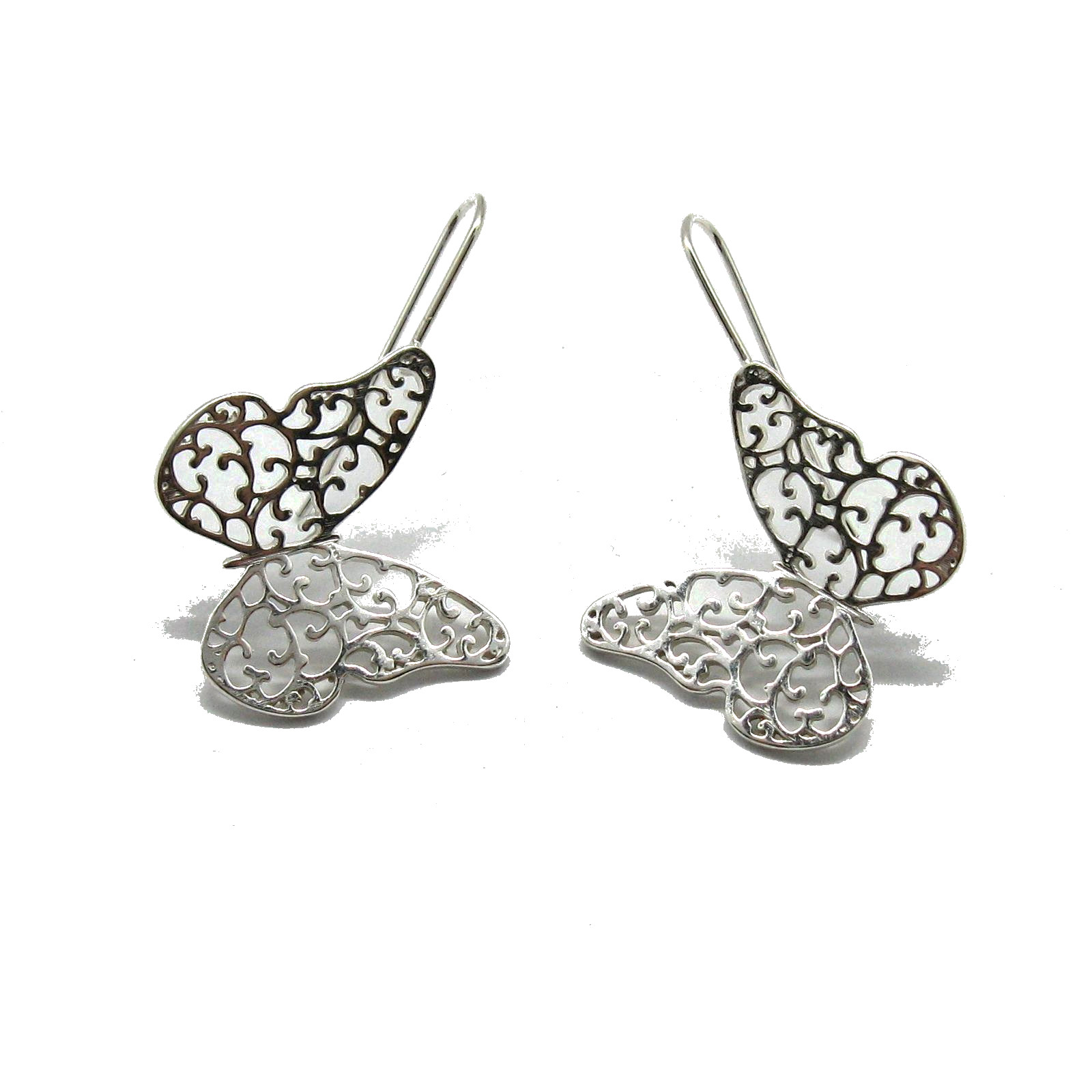 Silver earrings - E000737