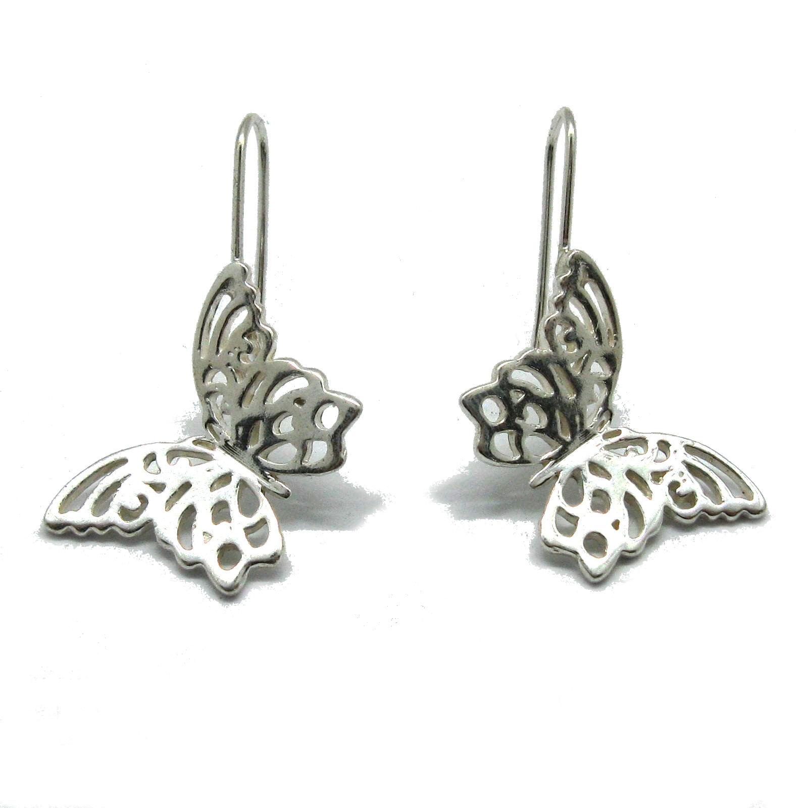 Silver earrings - E000739