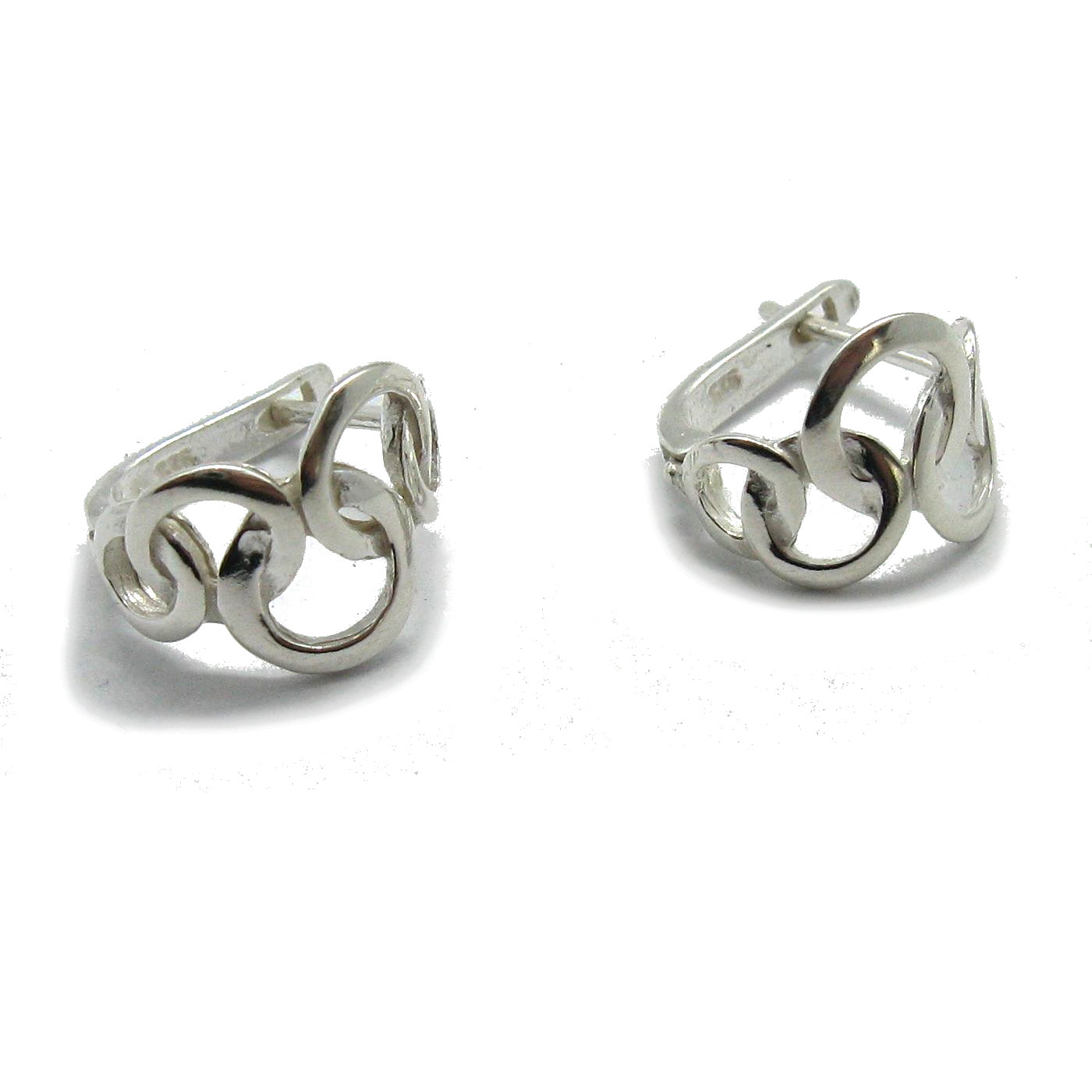 Silver earrings - E000741