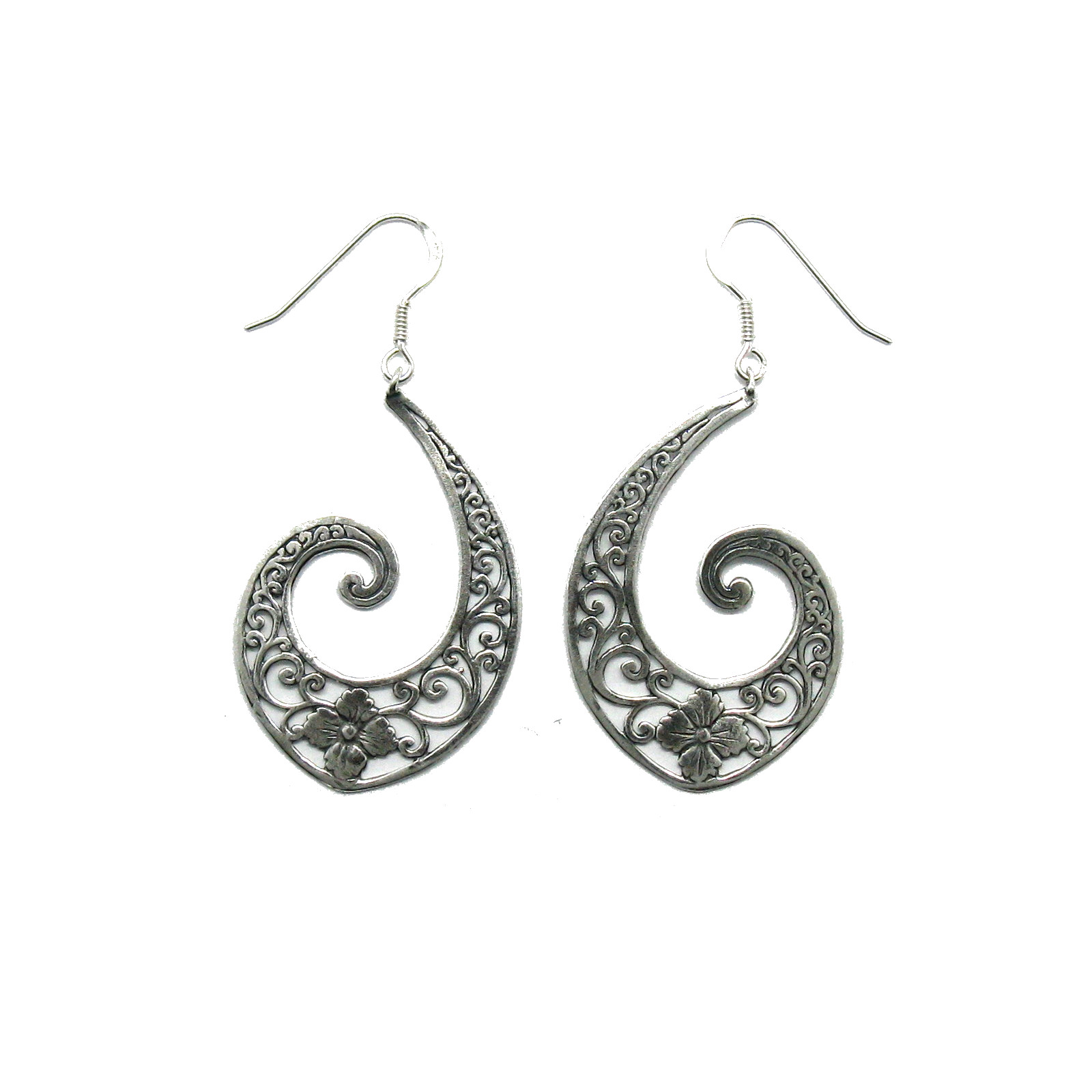 Silver earrings - E000755