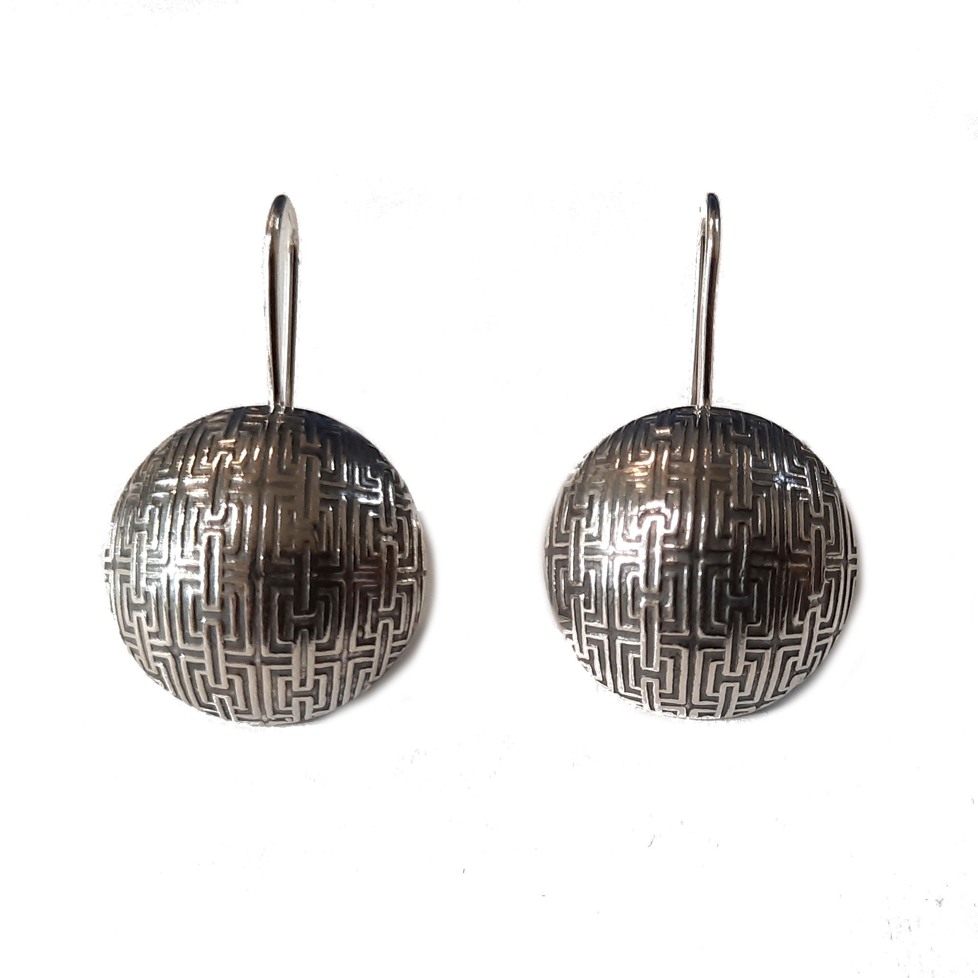 Silver earrings - E000788