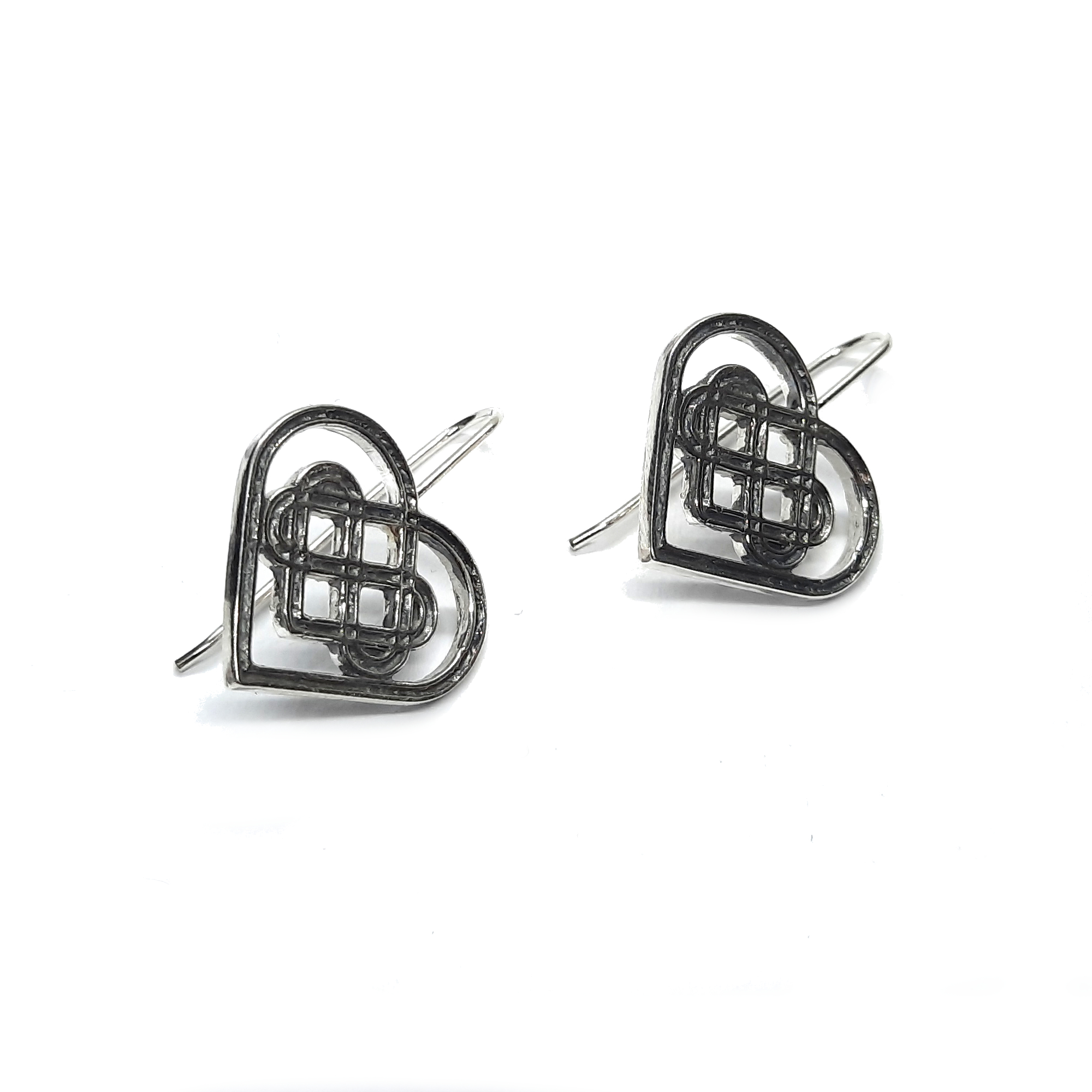 Silver earrings - E000795