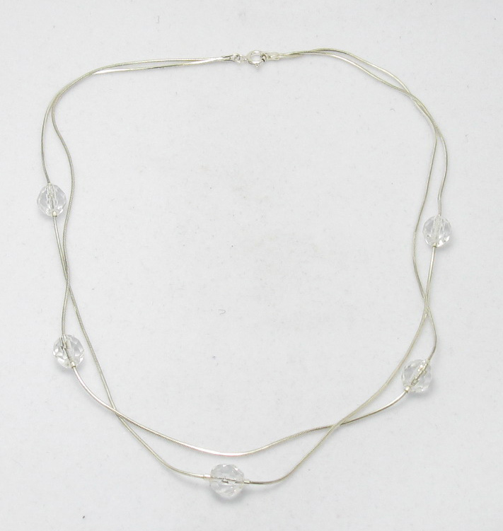 Silver necklace - N000001C