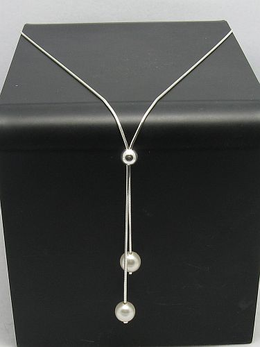 Silver necklace - N000002P