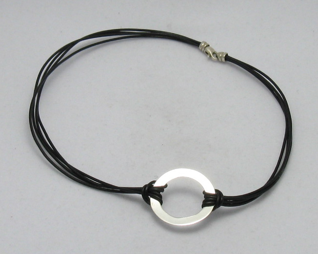 Silver necklace - N000014