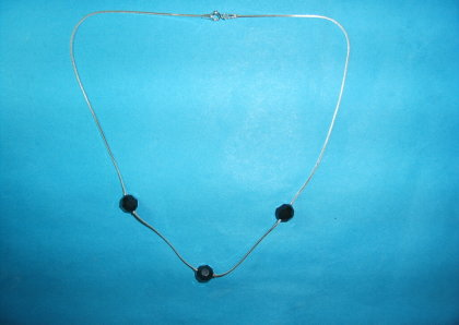 Silver necklace - N000179