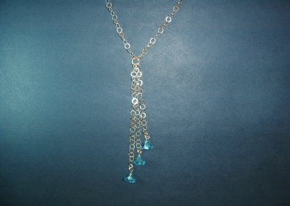 Silver necklace - N000194