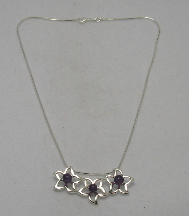 Silver necklace - N000249A
