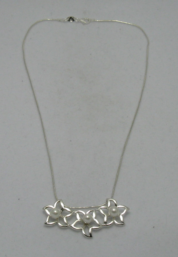 Silver necklace - N000249P