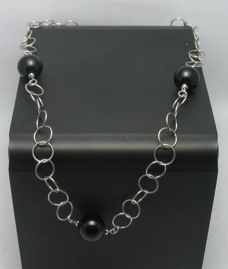 Silver necklace - N000257