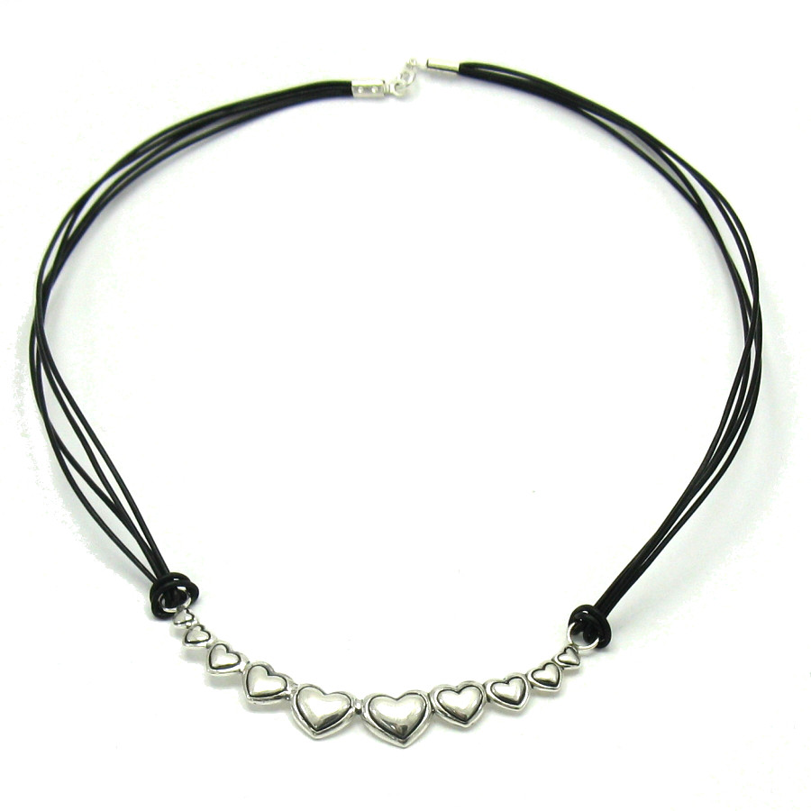 Silver necklace - N000272