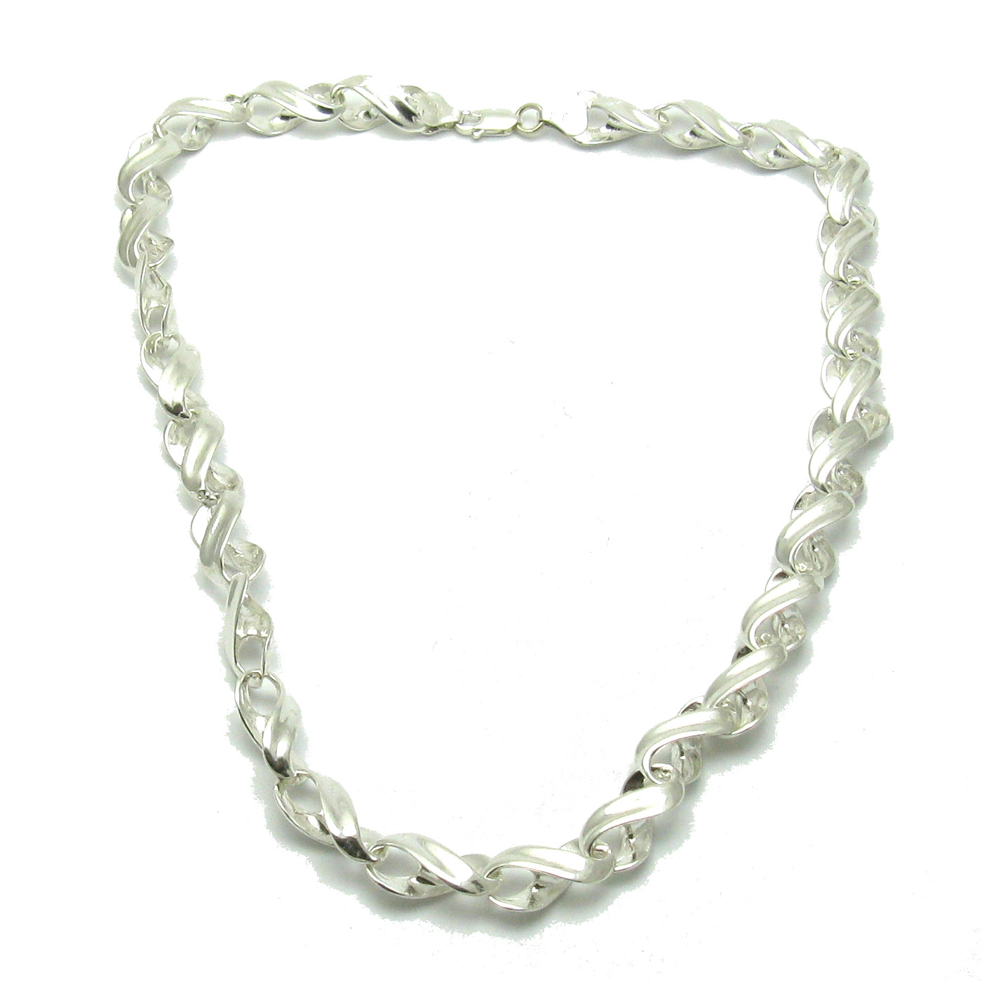 Silver necklace - N000277 - 50cm