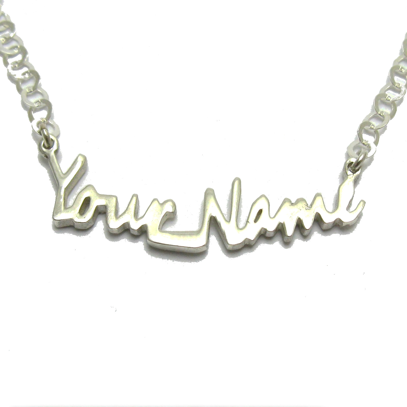 Silver necklace - N000280