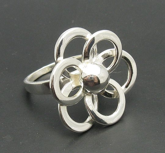 Silver rings without stones