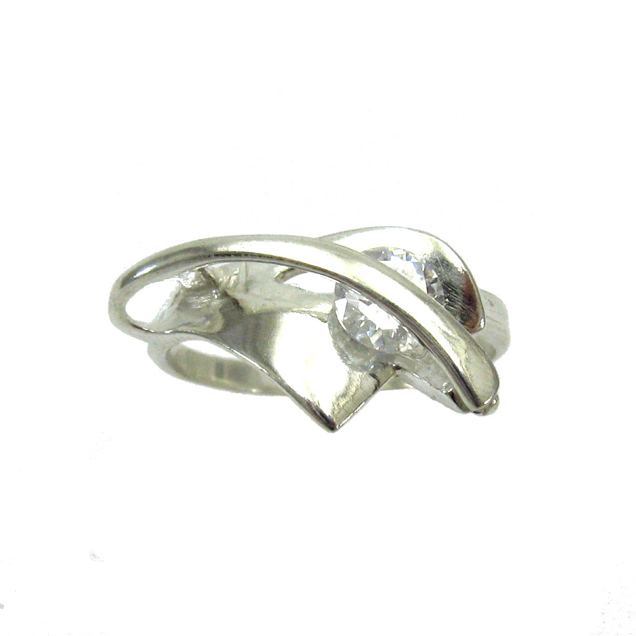 Silver ring - R000013