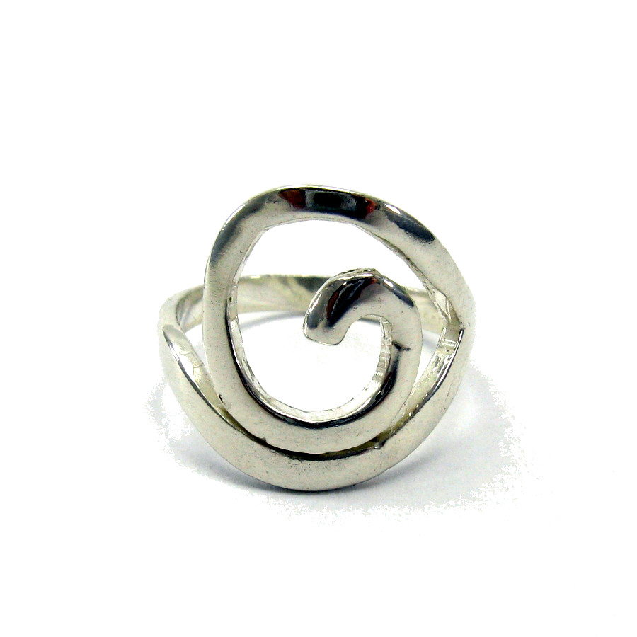 Silver ring - R000017