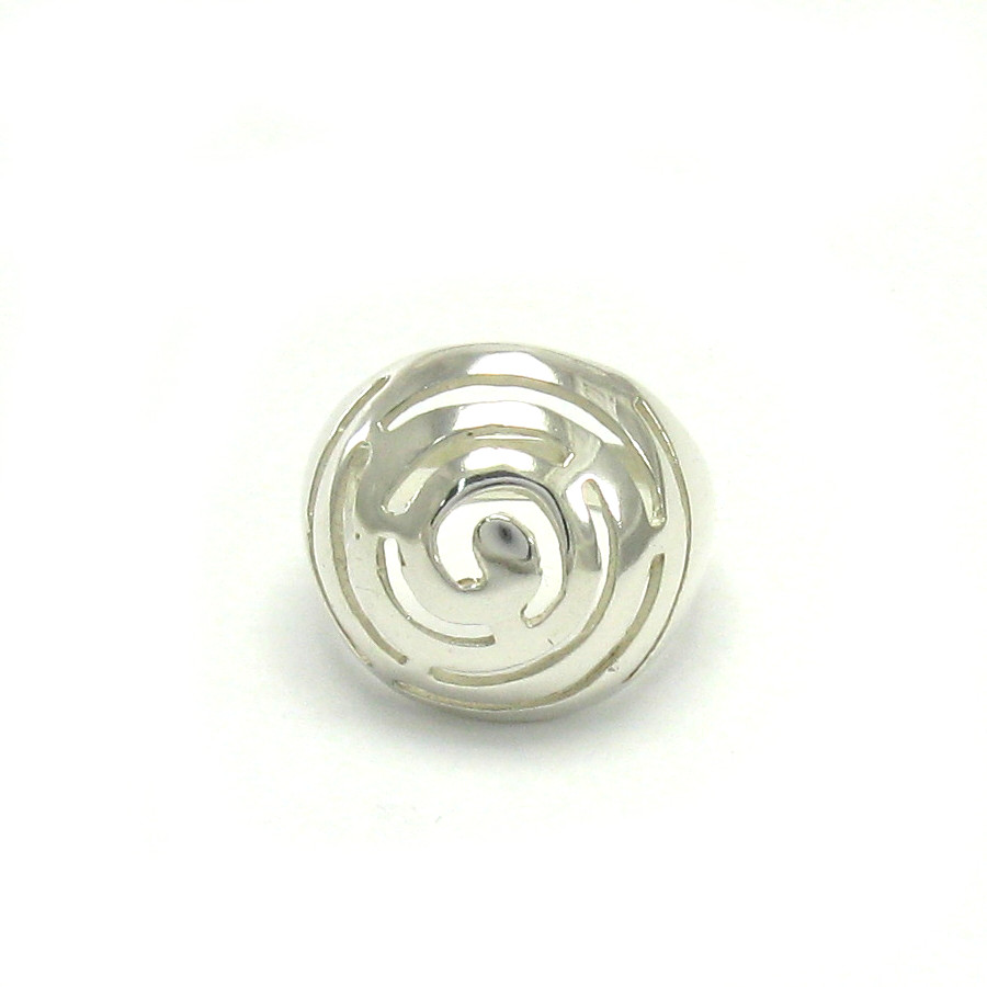 Silver ring - R000029