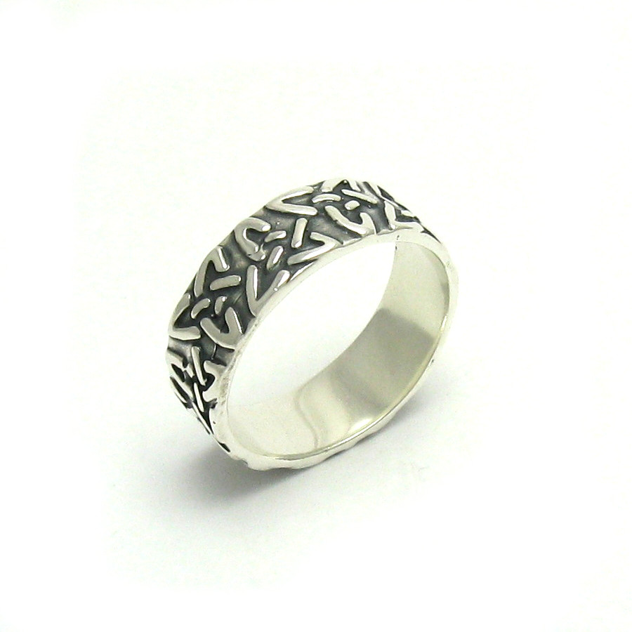 Silver ring - R000034