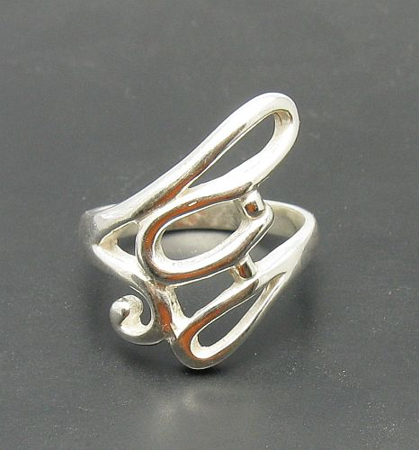 Silver ring - R000046