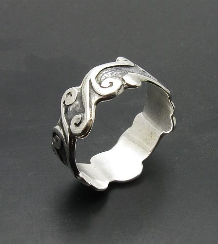 Silver ring - R000054