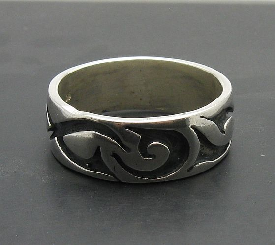 Silver ring - R000061