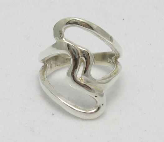 Silver ring - R000079