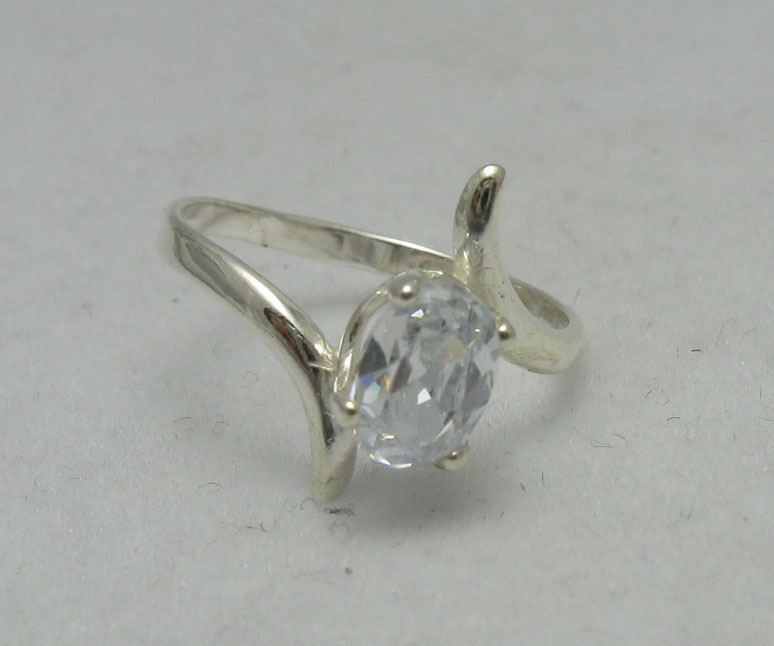 Silver ring - R000106