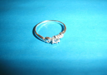 Silver ring - R000164