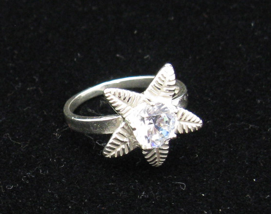 Silver ring - R000228