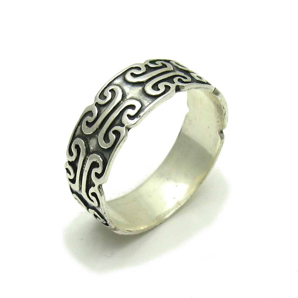 Silver ring - R000231