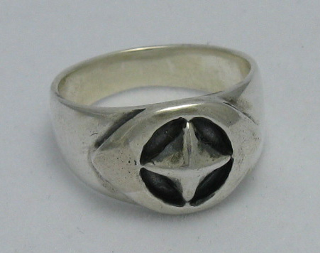 Silver ring - R000237
