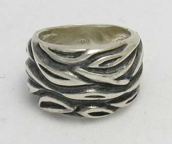 Silver ring - R000292