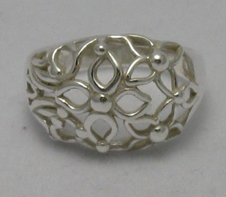 Silver ring - R000304