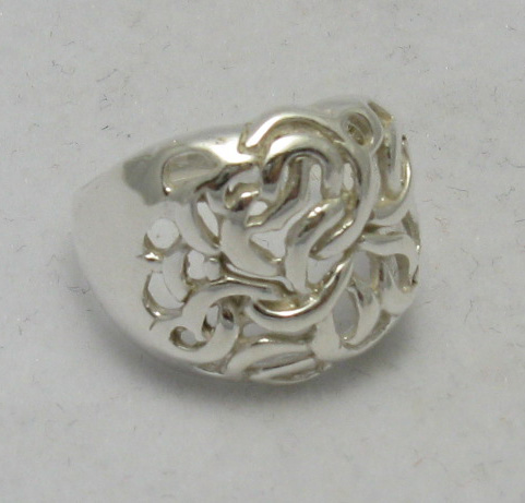 Silver ring - R000326