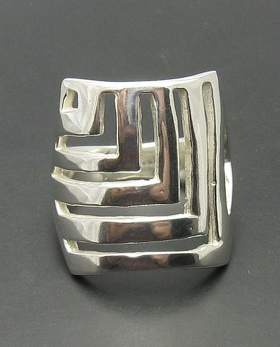 Silver ring - R000336
