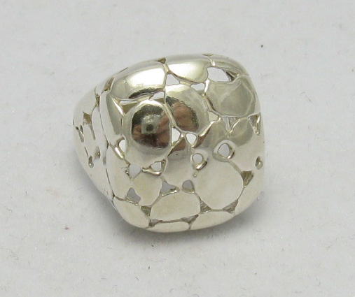 Silver ring - R000339