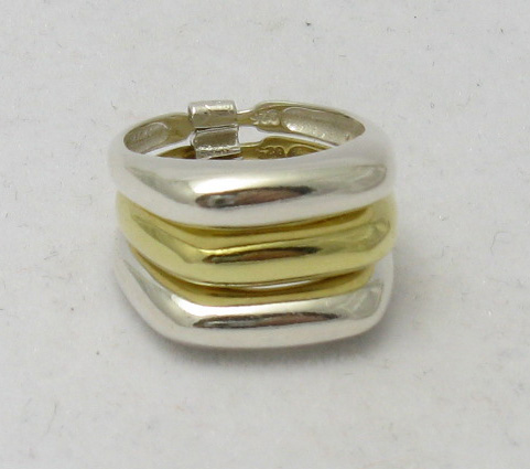 Silver ring - R000342