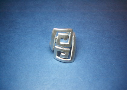Silver ring - R000354