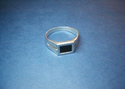 Silver ring - R000357