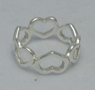 Silver ring - R000365