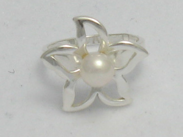 Silver ring - R000389