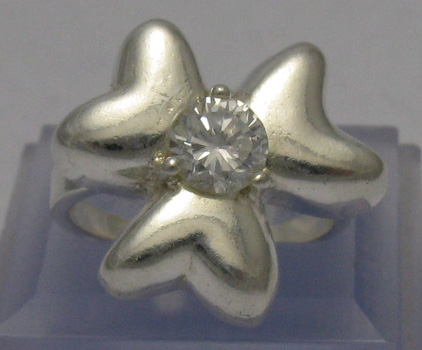 Silver ring - R000421