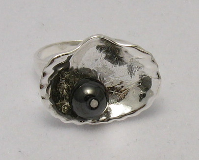 Silver ring - R000449H