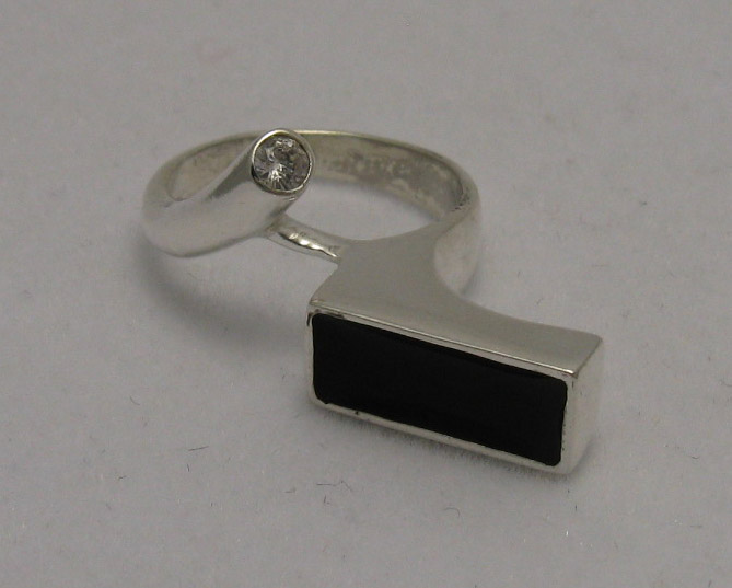 Silver ring - R000537