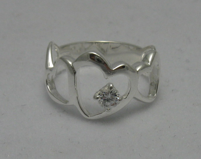 Silver ring - R000540