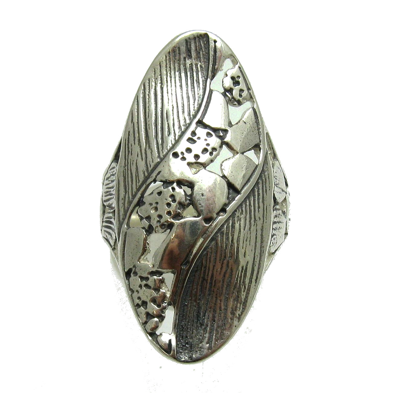 Silver ring - R000542