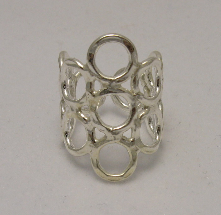 Silver ring - R000543
