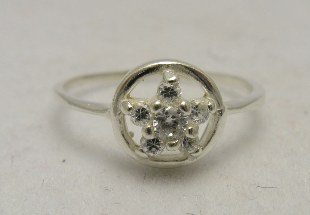 Silver ring - R000589