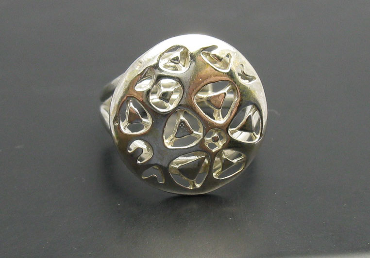 Silver ring - R000605