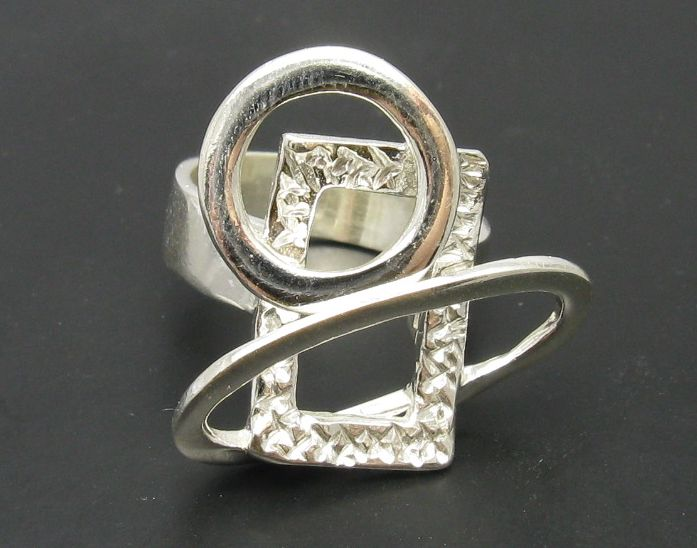 Silver ring - R000613
